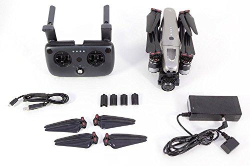 Walkera 15001000 Vitus Portable Quadrocopter RTF - FPV-Drohne mit 4K UHD-Kamera, Hinderniserkennung, GPS, Active Track, DEVO F8S-Fernsteuerung, Akku und Ladegerät - 2
