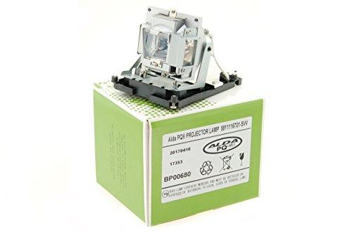 Alda PQ-Premium, Beamerlampe / Ersatzlampe für BENQ SP840 Projektoren, Lampe mit Gehäuse