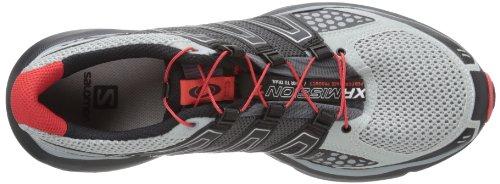 SALOMON XR Mission Scarpa da Trail Running Uomo Grigio-Nero-Rosso