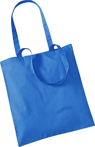 Westford Mill Shopper Handtasche Aufbewahrung Reisetasche Promo Schulter Tasche One Size Blau - Cornflower Blue