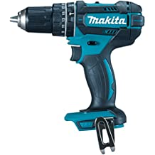 Makita DHP482Z cordless combi drill - cordless combi drills (Lithium-Ion (Li-Ion), Black, Blue)