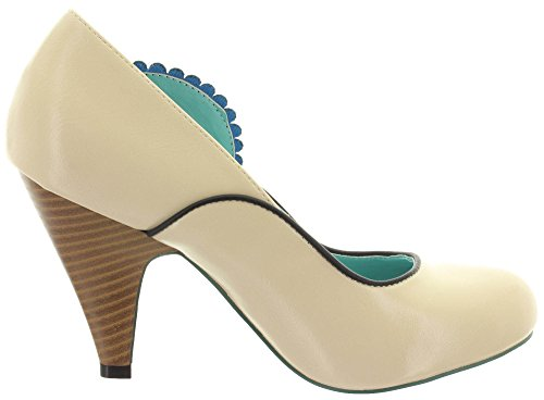 Dancing Days Banned Pumps Sway 196 Cream