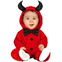 JCHPRODUCTS Baby Red Monster Little Devil Halloween Fancy Dress Costume 12-24 Months