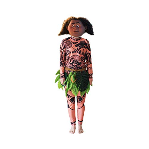 Halloween Adult Kleidung Anime Maui Kostüm Halloween (Size : ()
