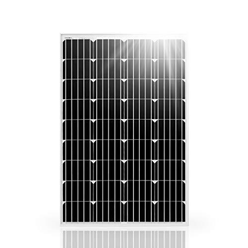 Betop-camp 100W 12V Solar Panel monokristalline Photovoltaik-PV-Modul für das Aufladen eines 12V in Wohnmobil, Wohnwagen, Wohnmobil, Boot oder Yacht, oder Off-Grid