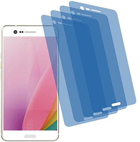 Crystal Sharp Case (4x Crystal clear klar Schutzfolie für Sharp Z3 Premium Displayschutzfolie Bildschirmschutzfolie Schutzhülle Displayschutz Displayfolie Folie)