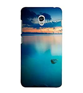 printtech Nature View Seaside Back Case Cover for Lenovo Vibe P1