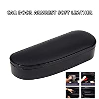 Bouder Waterproof Car Handrail Box Car Armrest Pad Center Consoles Cushion Cover Pillow Memory Foam Soft Comfortable Compatiable with Most Cars Suvs Black