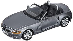 Bburago- BMW Z4 Coche de Juguete, Color Gris (18-22002GY)