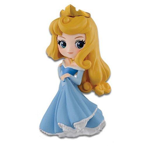 Figur Sammlung AURORA von Sleeping Beauty - Blaues Kleid - 7cm Serie QPOSKET Petit Banpresto DISNEY Characters