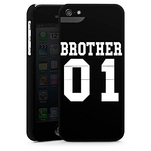 Apple iPhone X Silikon Hülle Case Schutzhülle Brother Bruder Bro Premium Case StandUp