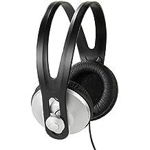 Vivanco 36502 Negro, Plata Circumaural Diadema Auricular - Auriculares (Circumaural, Diadema, Alámbrico