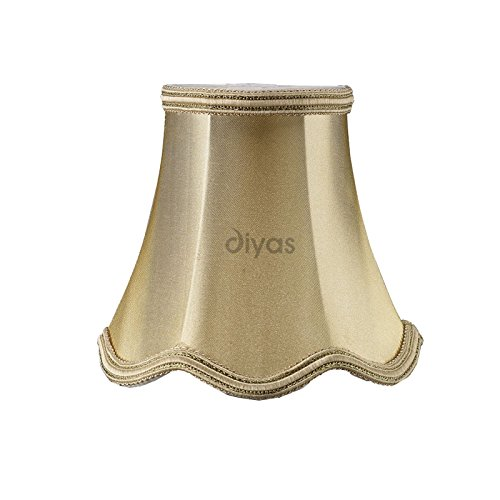onida-clip-lampenschirm-aus-stoff-goldfarben-schimmernd-130-mm