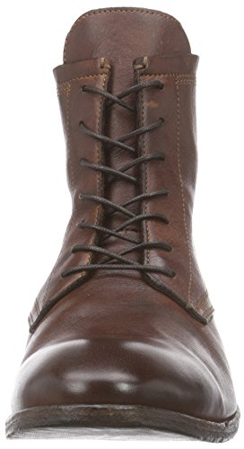 Hudson London Swathmore Drum Dye Herren Kurzschaft Stiefel Braun (Brown)
