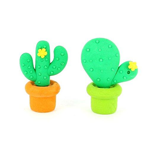 childrens-kids-3d-novelty-fun-pencil-stationery-eraser-rubber-sets-cactus