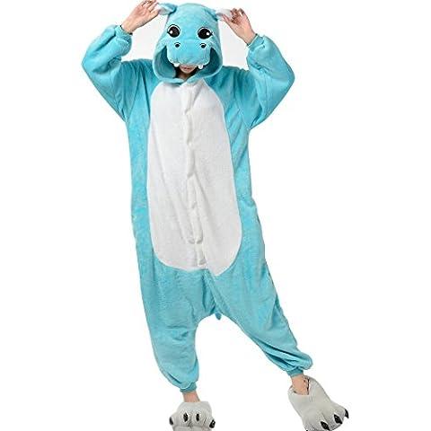 Aivtalk Pijamas de Franela para Hombre Mujer Cartoon Animal Ropa de Dormir Costume Regalo Halloween Carnaval Fiesta Navidad Murci¨¦lago Ch¨¢ndal Cosplay Una sola