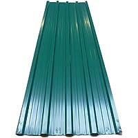 12x plaques tôles profilée/ondulée 129 x 45 cm =7m² bricolage toit cabane abri