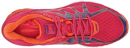 Zoot Diego Damen Laufschuhe, Chaussures de Course Femme Multicolore - Mehrfarbig (punch/deep purple/solar flare)