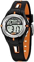 Calypso 5506/2 - Reloj para niños de cuarzo, correa de goma color varios colores (con luz, cronómetro, cuenta atrás, alarma)