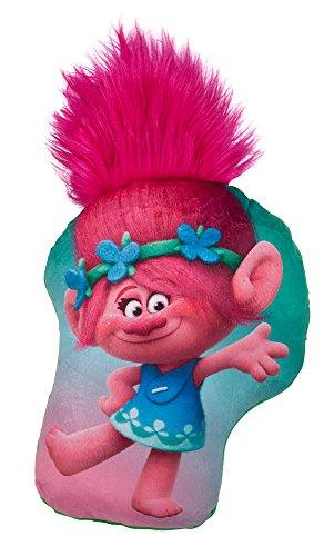 Preisvergleich Produktbild Trolls 3008 - Poppy Kissen Plüsch, mit Haaren 30 cm, bunt