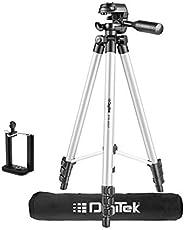 DIGITEK® DTR 455 LT (52 Inch) Tripod Mobile Holder and Carry Bag For DV Cameras and Smartphone   Max Operating