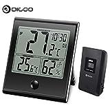 Best Thermomètres extérieure - Thermomètre Hygromètre Numérique, DIGOO 1180 l'hygromètre intérieur extérieur Review