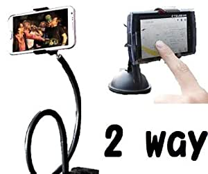 Universal Lazy Bed Desktop Car Mount Kit Holder for All Smartphone Iphone Galaxy