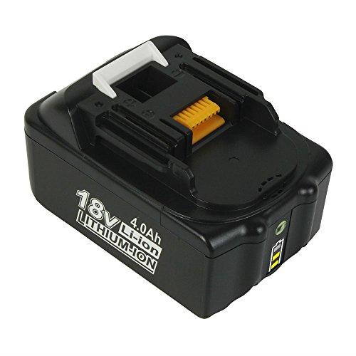 BL1850B 18V 4Ah Li-ion Ersatzakkus für Makita BL1850 BL1850B BL1860B BL1860 BL1830 BL1840 BL1845 BL1815 BL1820 BL1835 194205-3 194309-1 194204-5 LXT-400 18V Akku Werkzeugbatterien mit Indikator
