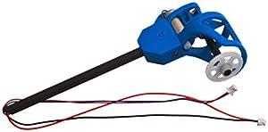 LRP Electronic 222713-Motor Juego Vuelta Incluye Varillas, Soporte y LED, H4Gravit 2.4GHz cuadricóptero, Color Blanco/Azul