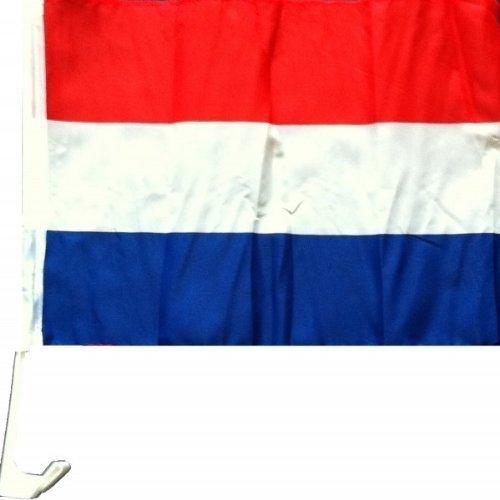 1 x Autofahne Autoflagge 45 x 30 Holland Auto Fahne Fahnen Flagge Flaggen EM 2012 mit Halterung