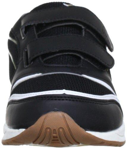 Kangaroos 1124B, Chaussures de sport mixte enfant Noir (Blk/Wht/Gold 509)