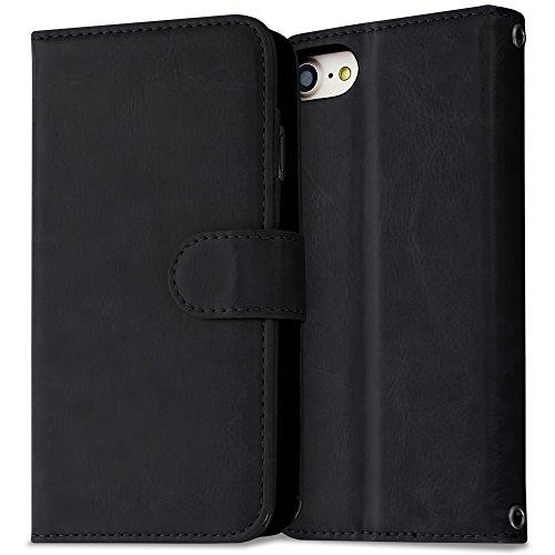 iphone-7-funda-libro-piel-cuero-negro-protector-film-dust-remover-micro-fiber-cloth-lifetime-warrant
