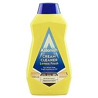 Astonish Cream Cleaner Lemon Fresh Tough On Grease & Dirt 500ml