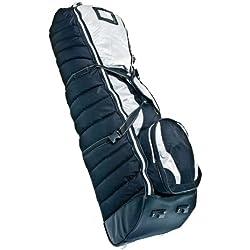 Longridge BATCRDB - Cubierta para bolsa de golf con ruedas para viaje