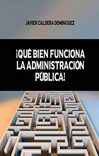 ¡QUÉ BIEN FUNCIONA LA ADMINISTRACIÓN PÚBLICA!