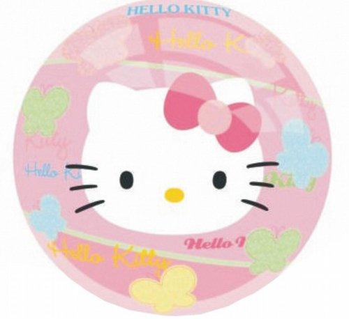 John 6868 - Vinyl Spielball Hello Kitty, 9,23 cm (Ball Kitty Hello)