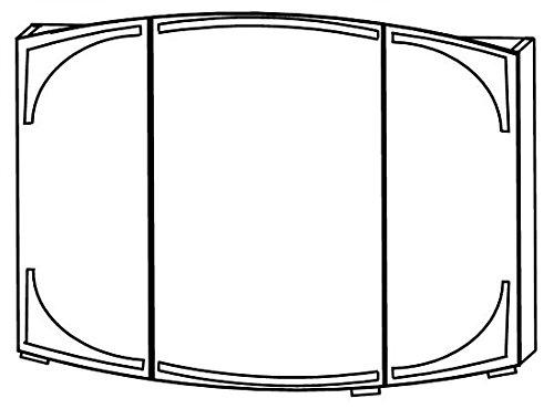 Spiegelschrank Classic Line – 90 cm - 2