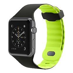 Belkin Sport Wristband For Apple Watch Series 2 & Apple Watch Series 1 (42mm), Citron Green