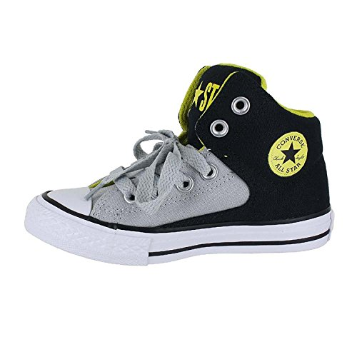 Converse Kids K All Star High Street Shoes Black Ash Grey Size 10.5