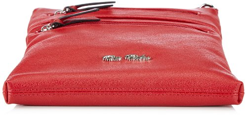 Tom Tailor Acc ERIE Umhängetasche, Borsa a spalla donna Rosso (Rouge - Rot (rot 40))