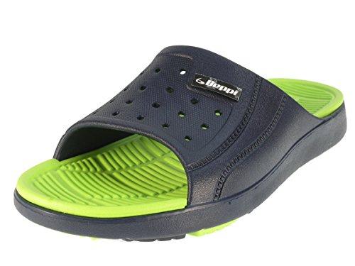 Beppi 214332 de sandales de schwimmbadschuhe Bleu - Blau/Grün