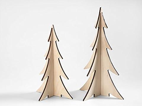 Weihnachtsbaum Holz Dekoration Weihnachten Set X-Mas 2017
