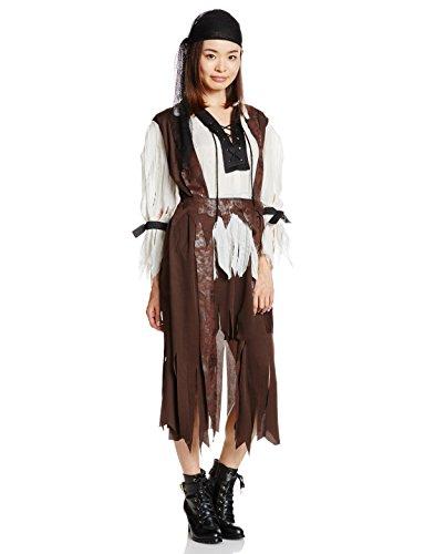 Rubie's - Costume per travestimento da Pirata dei Caraibi, Donna, Taglia unica