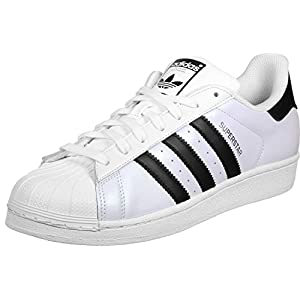 Adidas Superstar Basket unisex, per adulti, bianco (shiny), 49 1/3 EU