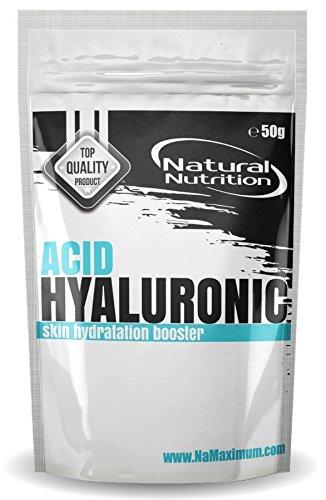 Rein Hyaluronsäure Pulver 50g | Pure Hyaluronic Acid Powder 5000mg | Hergestellt in der EU -