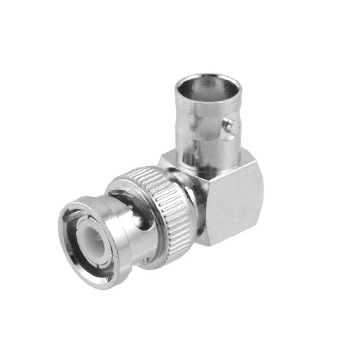 Sourcingmap BNC Female to Male CCTV Coaxial Cable Coupler Connector