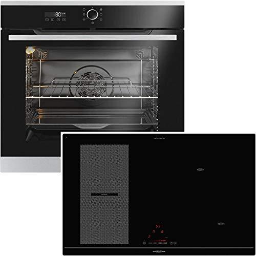 Oranier KXI 2081 - Set di fornelli da incasso, 60 cm, con piano cottura flessibile, a induzione