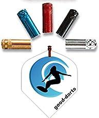 Rocket Dart Flyschutz in Alu natur, 5 Sätze (insg. 15 Stück)