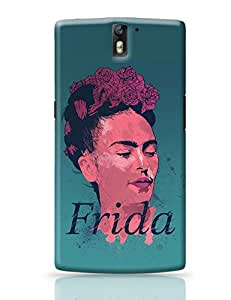 PosterGuy OnePlus One Case Cover - Frida Modern Art, Illustration, Graphic Painting, Digital Art