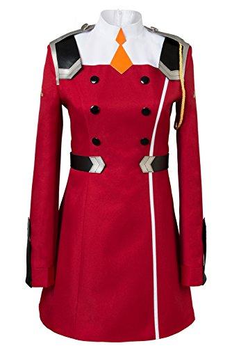 DARLING in the FRANXX Zero Two Code?002 Uniform Kleid Cosplay Kostüm Damen S